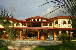 Villa Los Aires, the main lodge