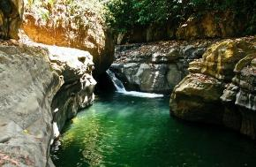 The biggest of the jungle swimming holes